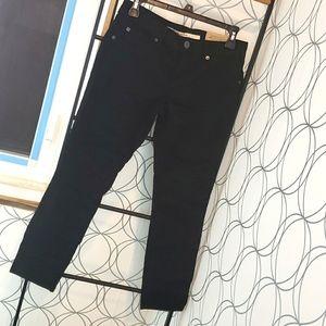 NWT Brody crop pants 27 x 25 black